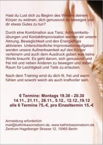 flyer Tanz 12.16
